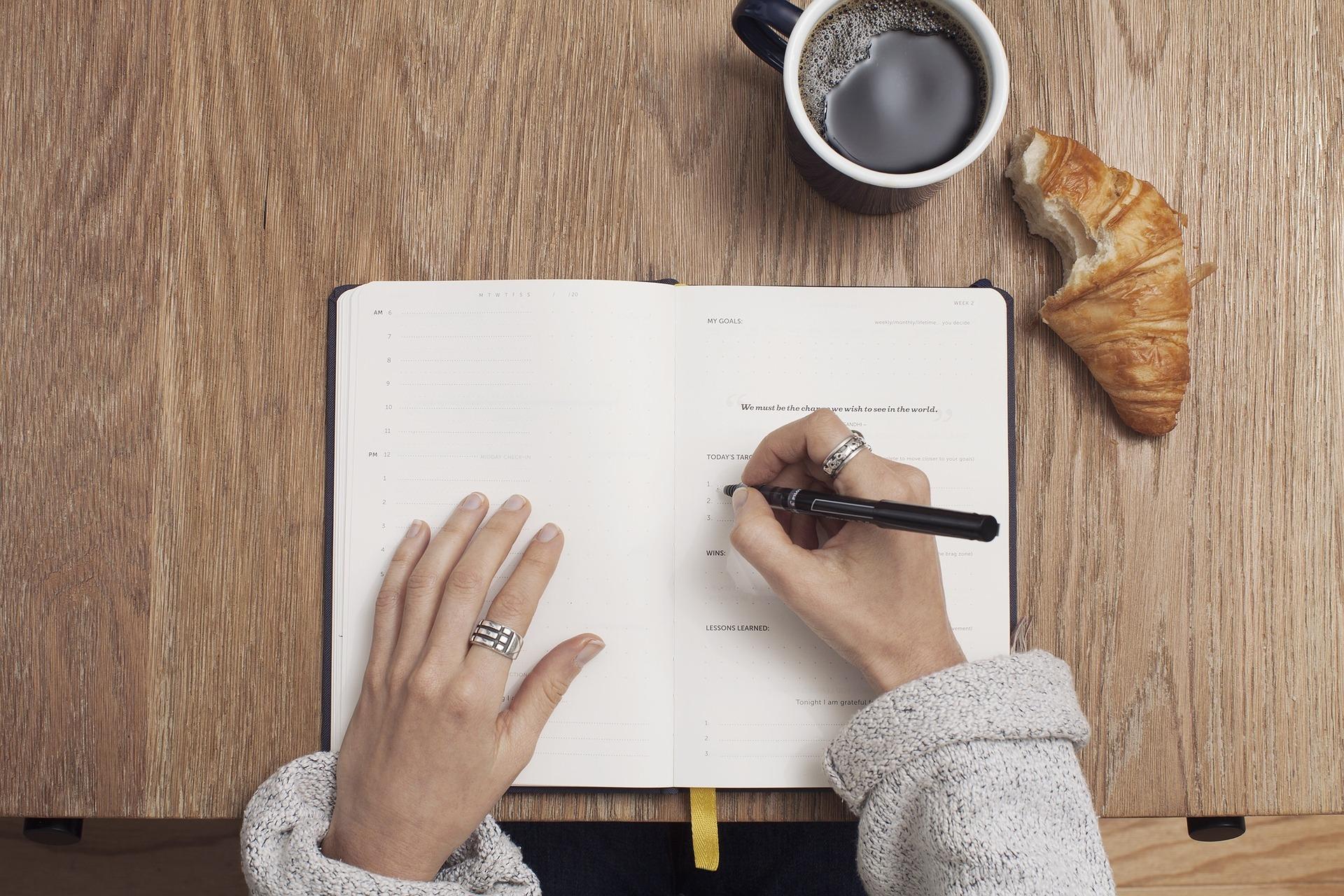 Agenda dello scrittore